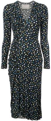 Jason Wu Collection floral print ruched detail dress