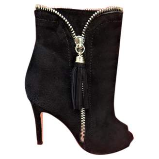 Carolina Herrera Open toe boots