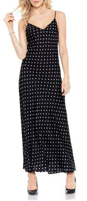 Vince Camuto Diamond-print Slip Dress