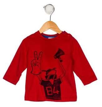 Little Marc Jacobs Boys' Graphic Print Shirt