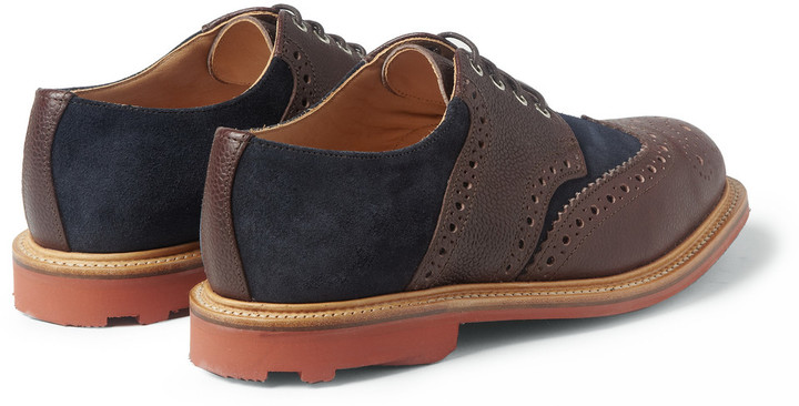 Mark McNairy Leather and Suede Brogues