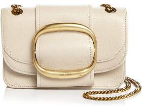 See by Chloe Hopper Small Oversized Buckle Leather Crossbody