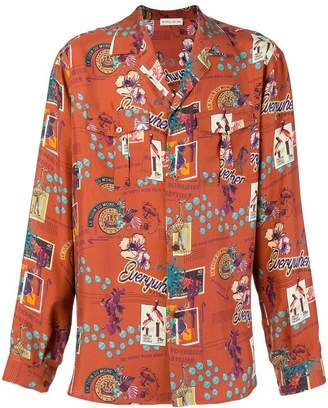 Etro graphic print shirt
