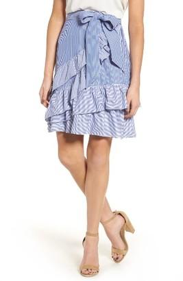 Women's Parker Lambert Wrap Skirt $188 thestylecure.com