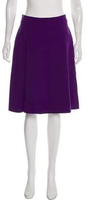 Fendi A-Line Knee-Length Skirt