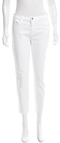 J BrandJ Brand Mid-Rise Capri Jeans