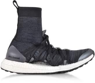 Stella McCartney Adidas Core Black and Night Grey Ultraboost X Mid Top Trainers