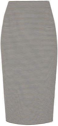 Whistles Stripe Jersey Tube Skirt