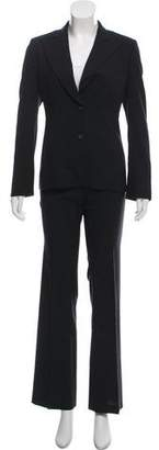 Gucci Wool Pinstripe Pantsuit