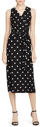 Lauren Ralph Lauren Polka Dot Dress $140 thestylecure.com
