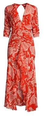 DAY Birger et Mikkelsen Rixo Rose Midi Dress