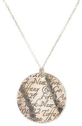 Tiffany & Co. Notes Pendant Necklace