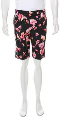 Gitman Brothers Floral Flat Front Shorts