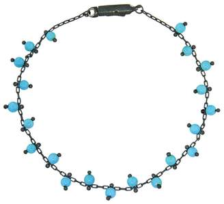 Ten Thousand Things Double Studded Turquoise Bracelet