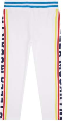 Stella McCartney Cotton Colourful Logo Sweatpants