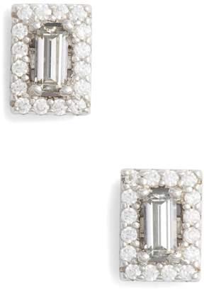 Lafonn Crystal Baguette Simulated Diamond Stud Earrings