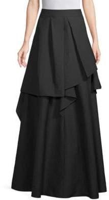 Brunello Cucinelli Ruffled Floor-Length Skirt