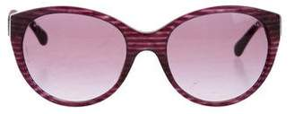 Chanel CC Velvet Sunglasses w/ Tags