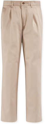 Nautica Little Boys' Pleated Uniform Pants
