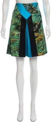Proenza Schouler Digital Print Knee-Length Skirt w/ Tags