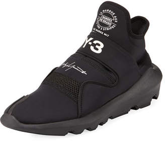 Y-3 Suberou Fast-Strap High-Top Sneaker