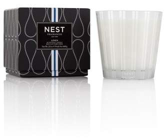 Linen 3-Wick Candle