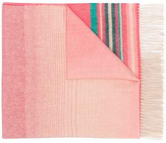 Paul Smith ombré scarf
