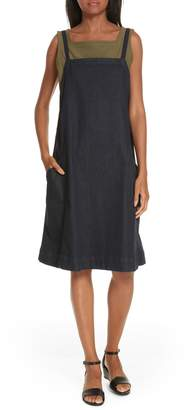 Eileen Fisher Organic Cotton Blend Layering Dress