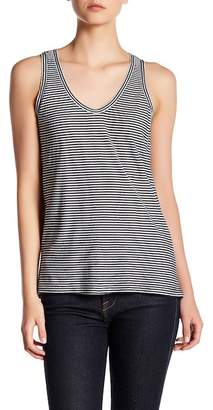 SUSINA Striped Shirred Back Tank $12.97 thestylecure.com