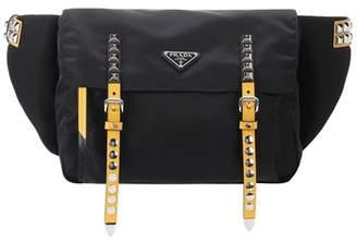 Prada Embellished belt bag