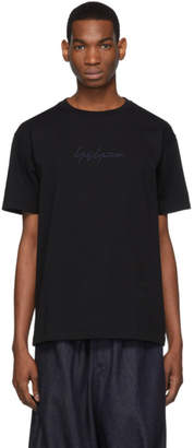 Yohji Yamamoto Black New Era Edition Cotton T-Shirt