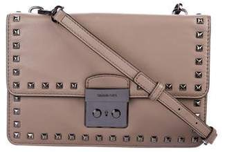 MICHAEL Michael Kors Studded Leather Crossbody Bag