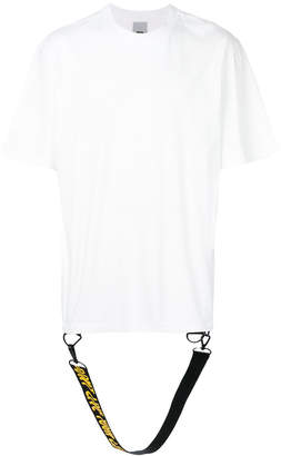 D By D branded strap T-shirt