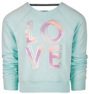 Ideology Toddler Girls Love-Print Sweatshirt, Created for Macy's