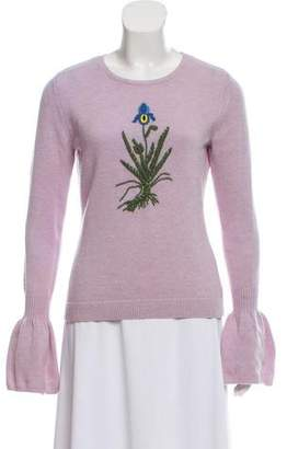Altuzarra Embroidered Wool Sweater