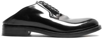 Vetements X Church's collapsible-heel leather derby shoes