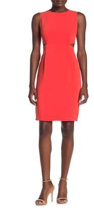 Trina Turk Helena Side Cutout Sheath Dress