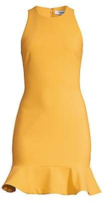 LIKELY Women's Beckett Flounce Hem Sheath Dress - Size 0