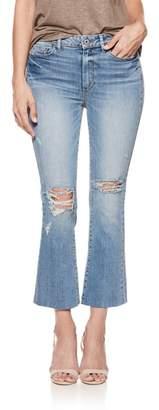 Paige Colette High Waist Crop Flare Jeans