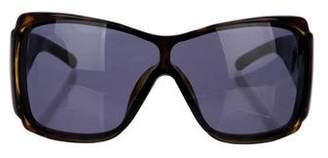 Christian Dior Oversize Shield Sunglasses