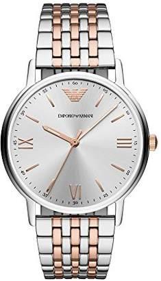 Emporio Armani Men's 'Dress' Quartz Stainless Steel Casual Watch