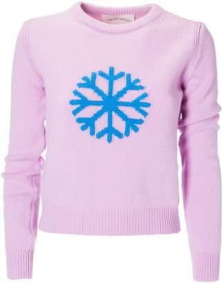 Alberta Ferretti Snowflakes Sweater