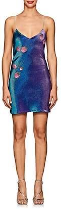 Area Women's Dora Cotton-Blend Lamé Cami Dress