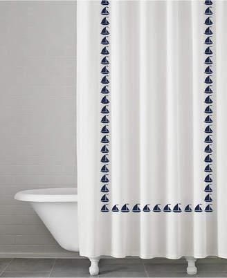 Kassatex Grand Haven 100% Cotton Shower Curtain