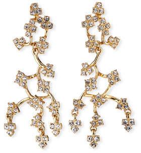 Lulu Frost Jackie Crystal Drop Earrings