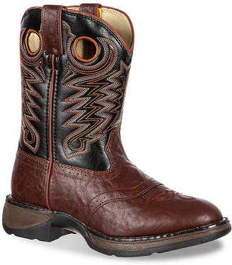 Durango Saddle Western Youth Cowboy Boot - Boy's