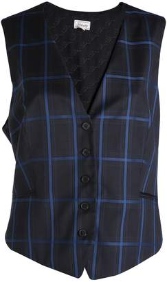 Temperley London Millie Large Check Waistcoat
