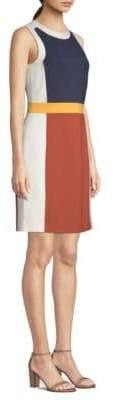 Tory Burch Mya Colorblocked Midi Dress