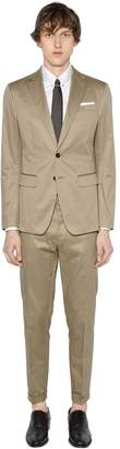 DSQUARED2 Manchester Stretch Cotton Suit