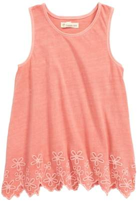 Tucker + Tate Easy Embroidered Tunic Tank